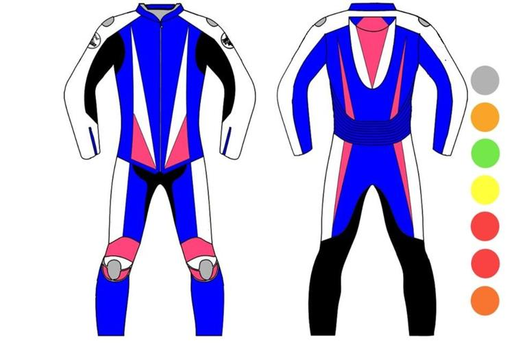 Motor bike ride suit