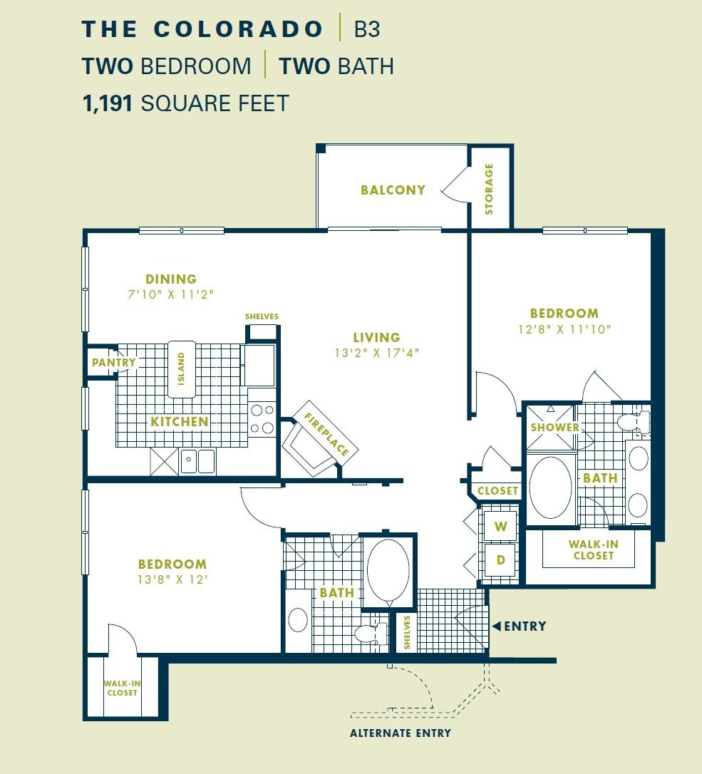 $1471 Two bedroom Apartment for rent