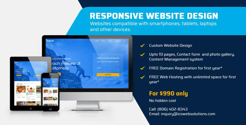 Get Your Business Website For Just $990