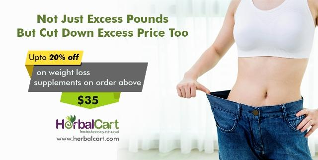 Upto 20% OFF on WEIGHT LOSS Supplements – Herbalcart.com