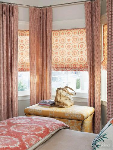 Custom Window Treatments, Draperies and Roman Shades