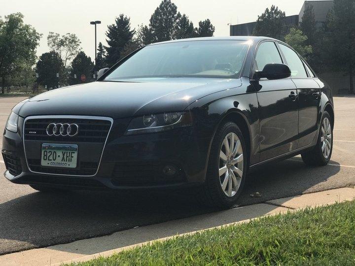 Audi A4 4D Sedan Qtro 2.0T Premium 2012