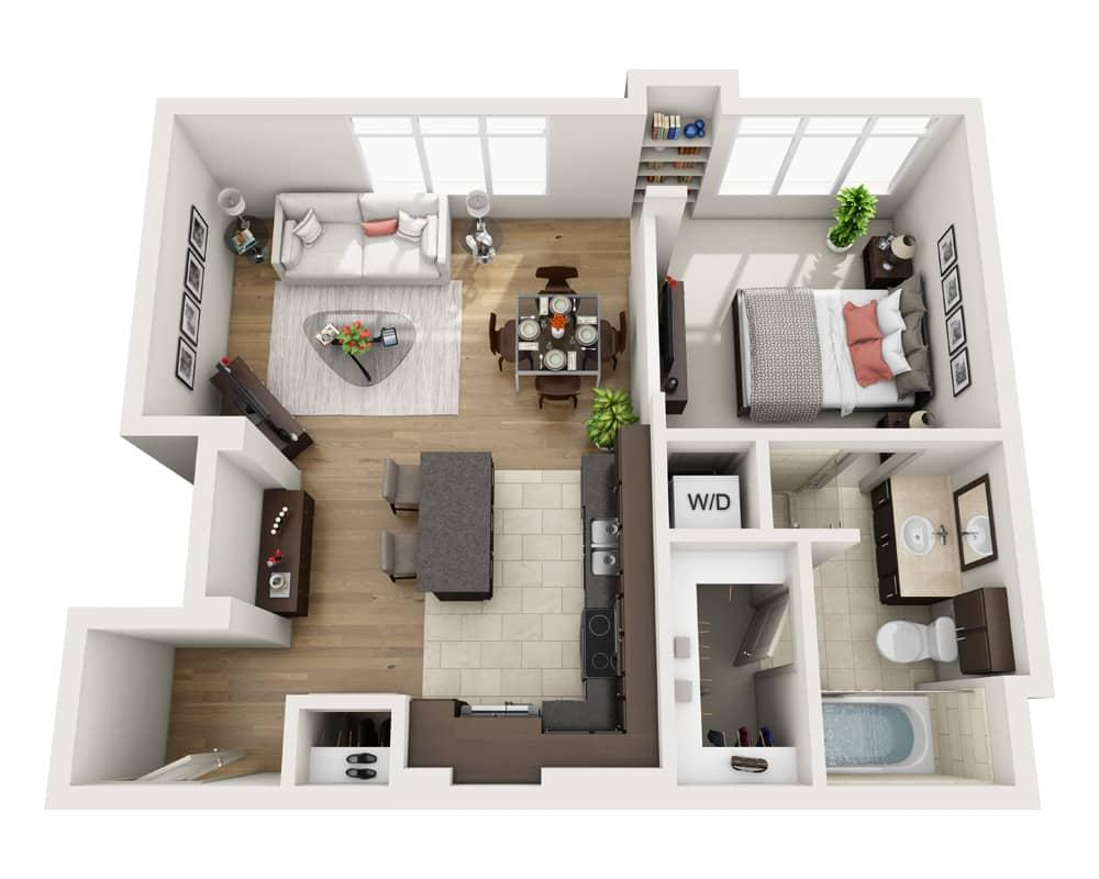 $3379 One bedroom Apartment for rent