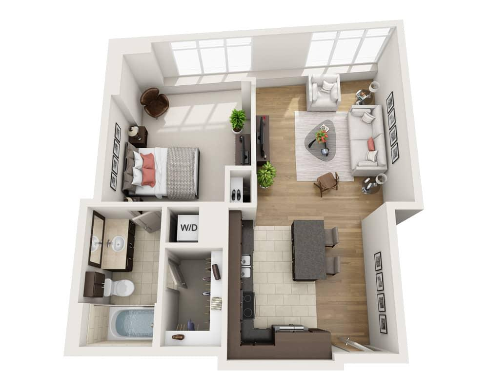 $3031 One bedroom Apartment for rent