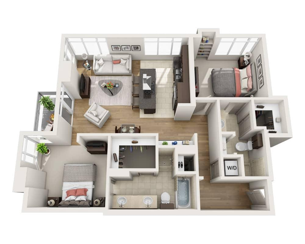 $5352 Two bedroom Apartment for rent
