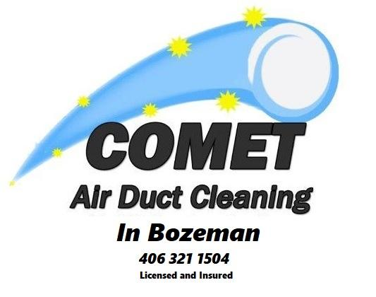 Air Duct Cleaning by Comet in the Bozeman area