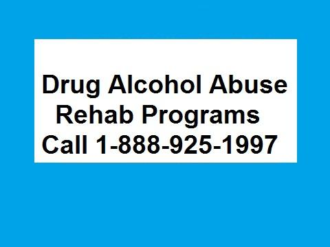 1-888-925-1997 Drug Alcohol Abuse Treatments Rehab Programs and Centers