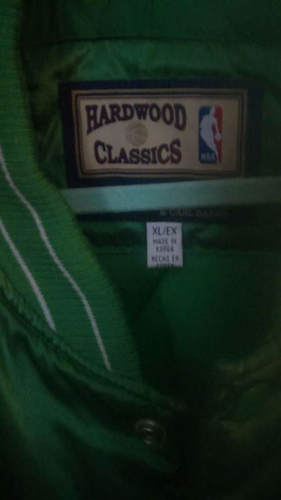 NBA Hardwood Classic Celtics Jacked