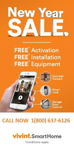 VIVINT HOME SECURITY BEST DEAL OF THE YEAR CALL NOW 1 800  637 6126