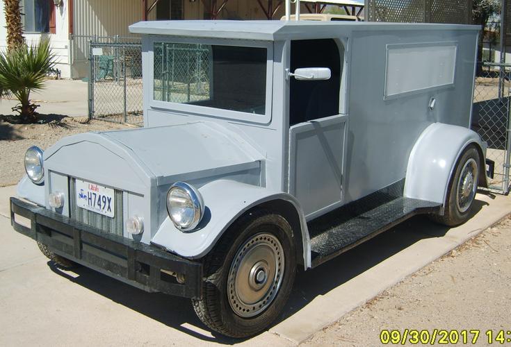 FOR SALE Homemade 1913 Panel Truck