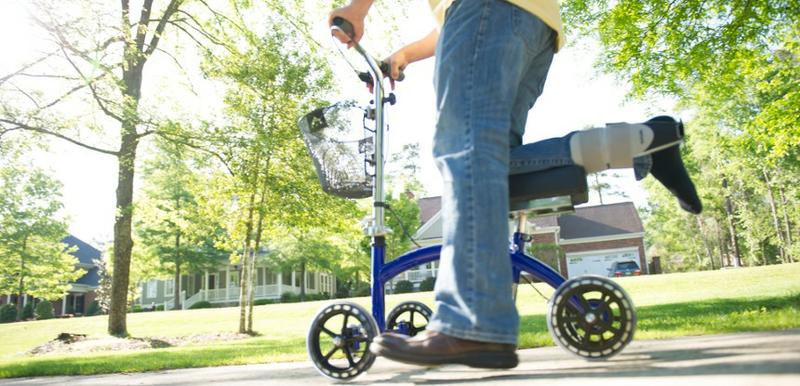 Knee scooter for monthly rental