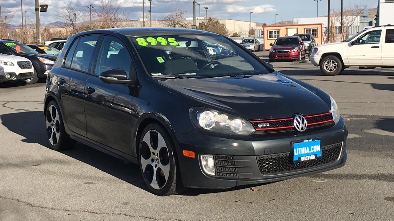 Volkswagen GTI 4-DOOR W/PZEV (M6) 2012