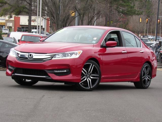 Honda Accord Sedan Sport CVT 2017