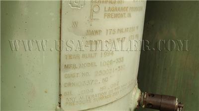 1994 SULLAIR 125 DPQ AIR COMPRESSOR