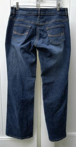 NEW WOMENS EMBROIDERED JEANS SIZE 9