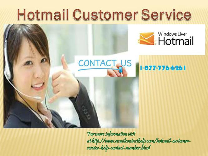Ring on 1-877- 776-6261 for Hotmail Customer Service
