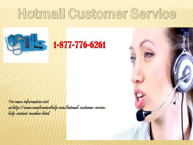 Contact us on 1-877- 776-6261 for Best Service related Hotmail Customer Service