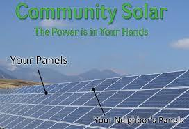 - Community Shared Solar - Free Months of Electricity