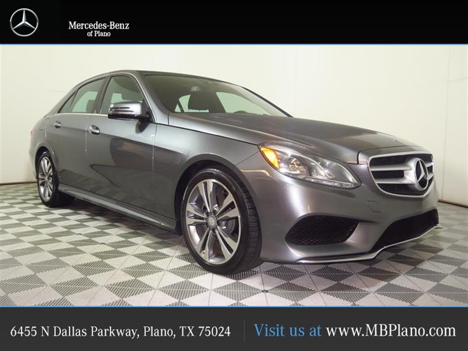 Mercedes-Benz E-Class 4DR SDN E 350 LUXURY RWD 2016