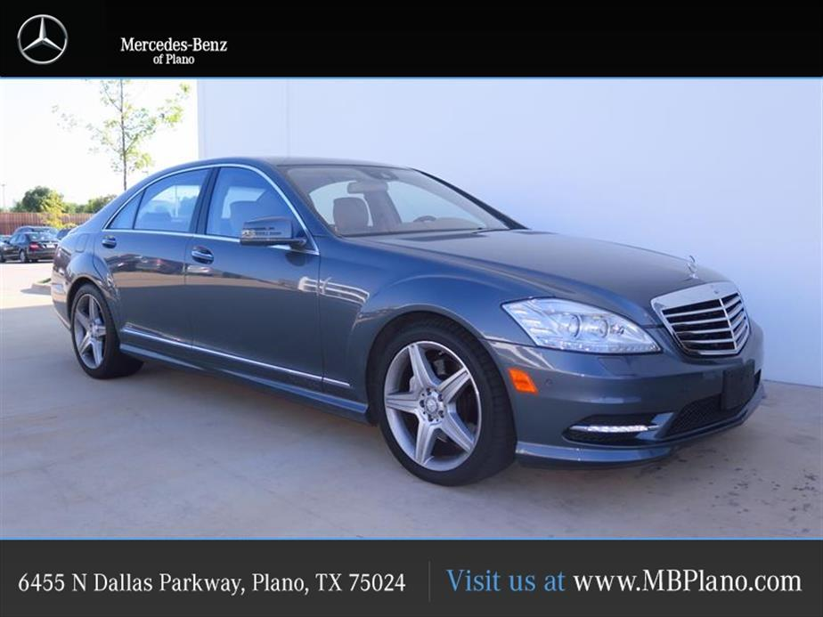 Mercedes-Benz S-Class 4DR SDN S 550 RWD 2010