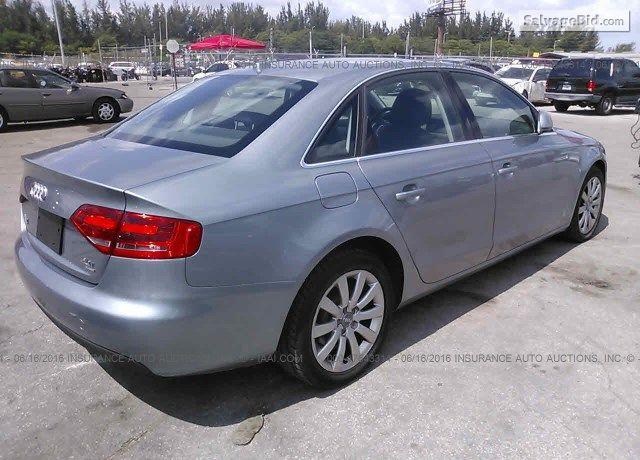 2009 Audi A4 for Sale at Salvage Title Cars Auction