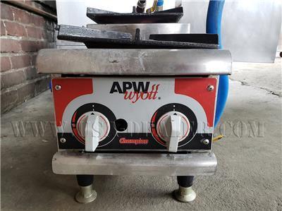 APW WYOTT GHP-2H 2 BURNERS