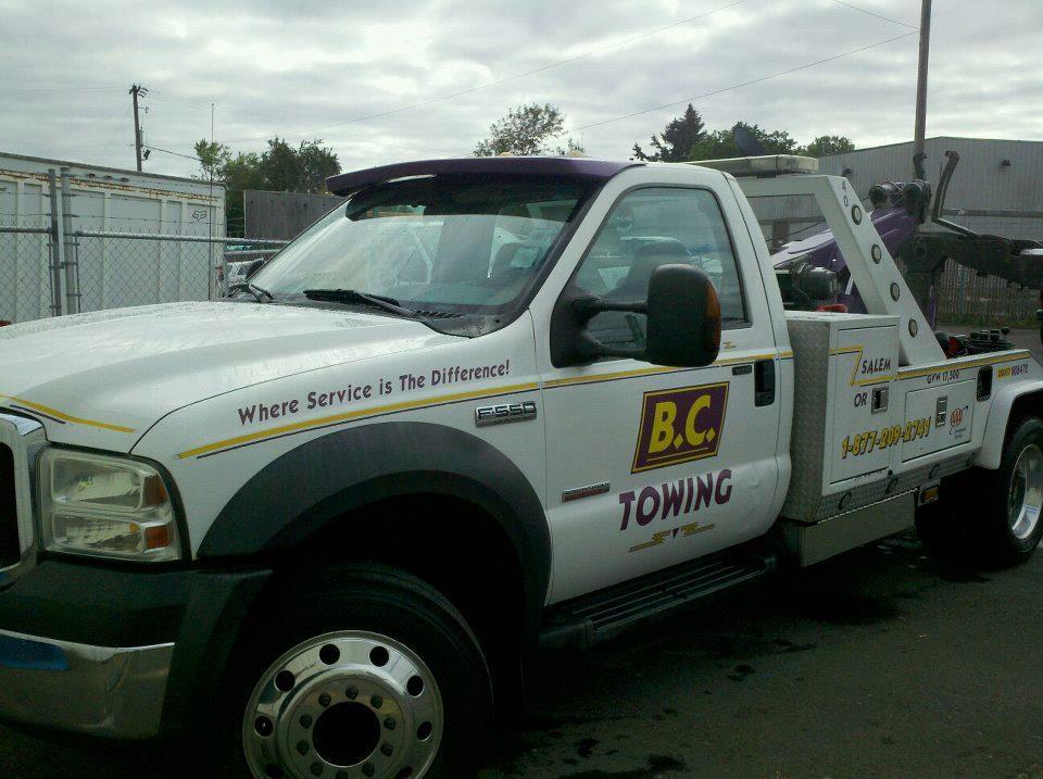 B.C. Towing Inc