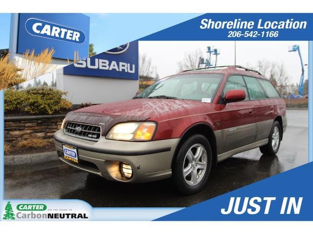 Subaru Legacy Wagon Outback H6 L.L. Bean Edition 2004
