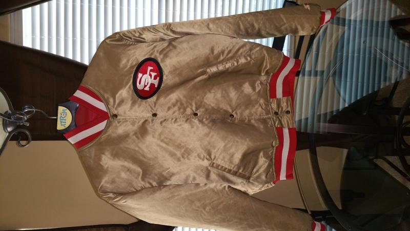 1987 49ers Starter Jacket - Autographed