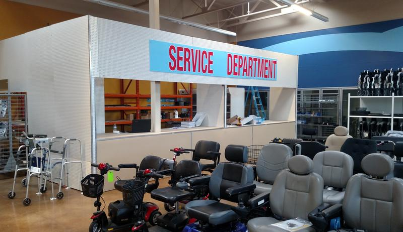 WHEELCHAIR/SCOOTER REPAIRS  - Full Service Repair Department Now Open