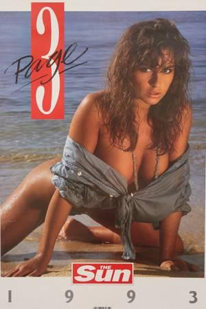 The Sun Page 3 Glamour Model Calendars (Years 1987-2017)