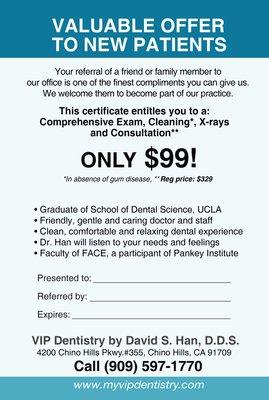VIP Dentistry by David S. Han, D.D.S.