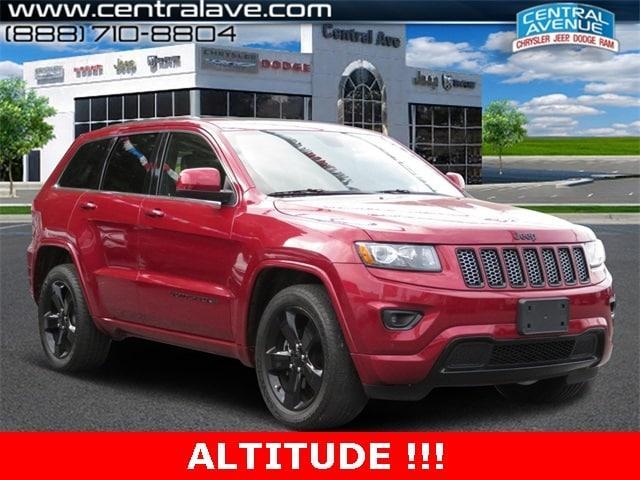 Jeep Grand Cherokee Altitude 2015