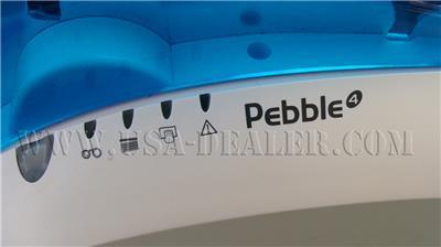 EVOLIS PEBBLE 4 THERMAL ID BADGE CARD PRINTER USB UNTESTED