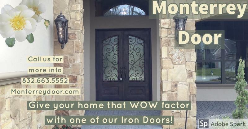 Iron Doors / Grape Vine Style