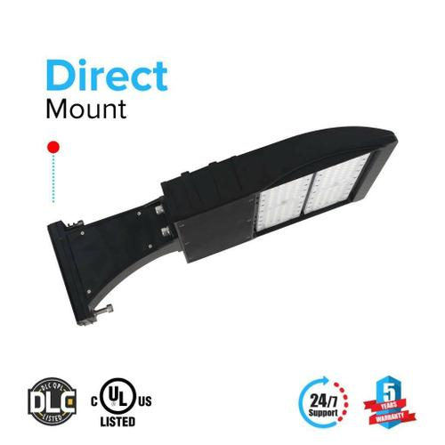 Best Outdoor LED Pole Light 150 Watt 5700K Black DM
