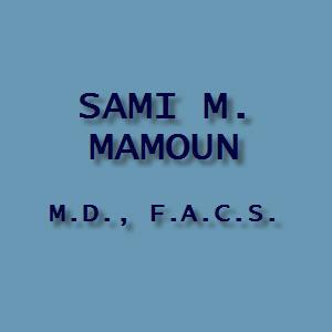 Sami M. Mamoun, MD, FACS