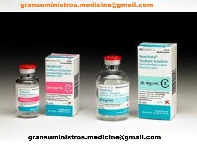 Nembutal phenobarbital for veterinary and for human use with Rohypnol