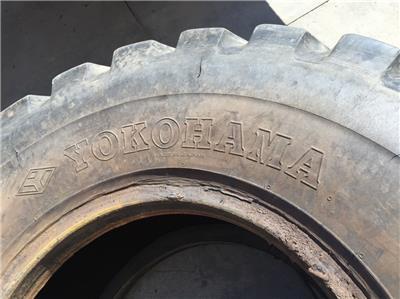 USED YOKOHAMA LOADER TIRE 20.5R25