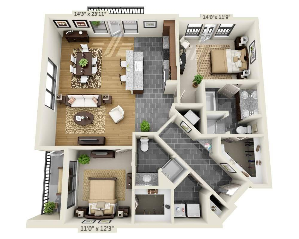 $2164 Two bedroom Apartment for rent