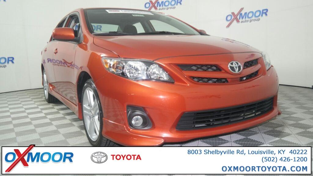 Toyota Corolla S Special Edition 2013