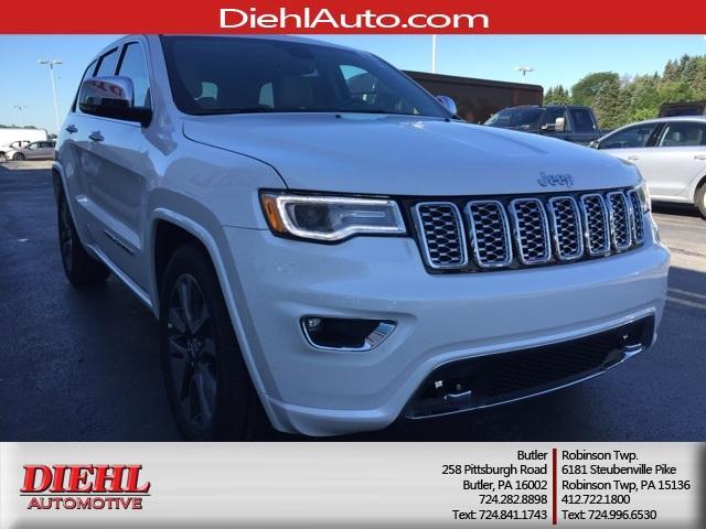 Jeep Grand Cherokee Overland 4x4 2017