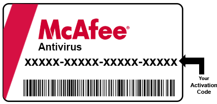 How to activate and deactivate  mcafee retailcard