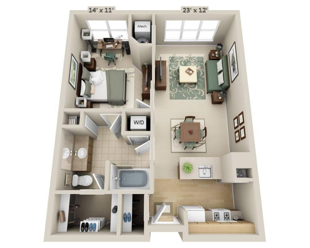 $1578 One bedroom Apartment for rent