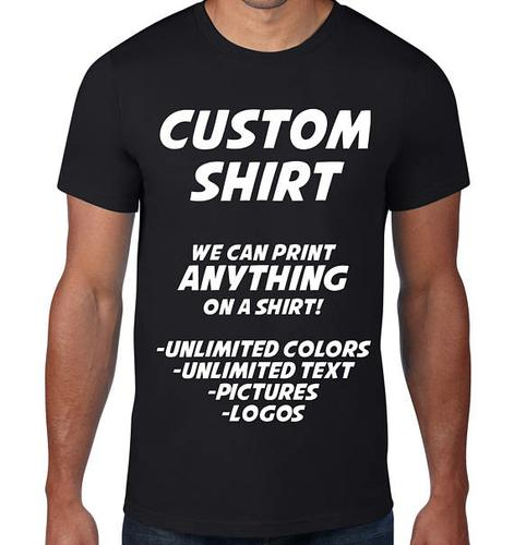Custom designs on your T-shirts, Hoodies & caps.