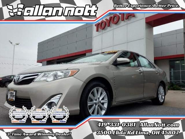 Toyota Camry 4dr Sdn I4 Auto XLE 2013