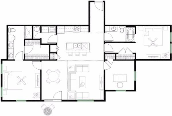 $1573 Two bedroom Apartment for rent