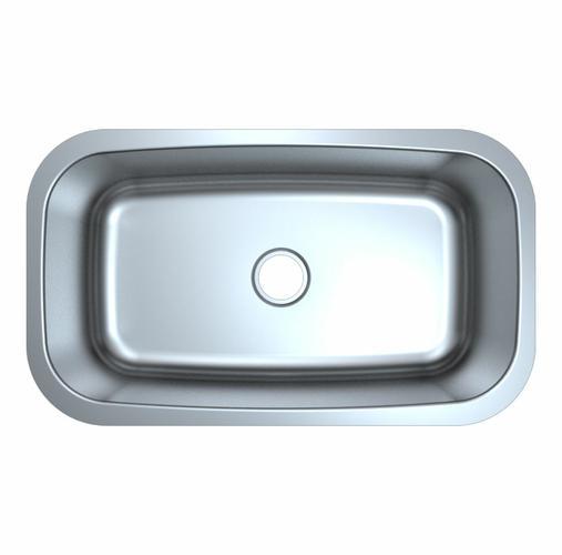 Genesis Single Bowl Stainless Steel Kitchen Sink