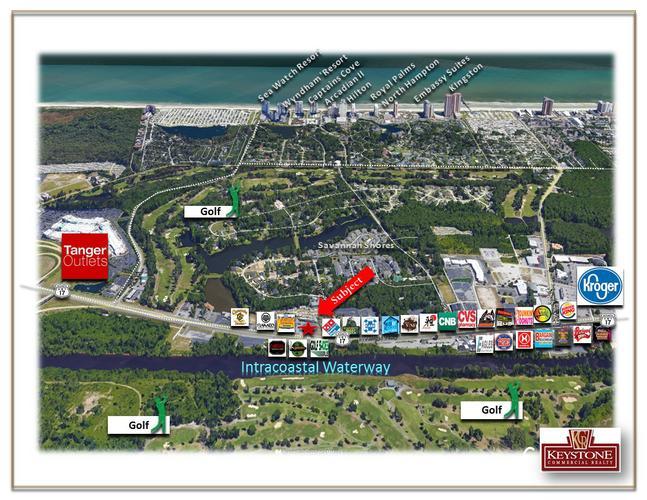 Shops at Hidden Village-Unit E-450 SF-Retail/Office Space-For Lease-Myrtle Beach