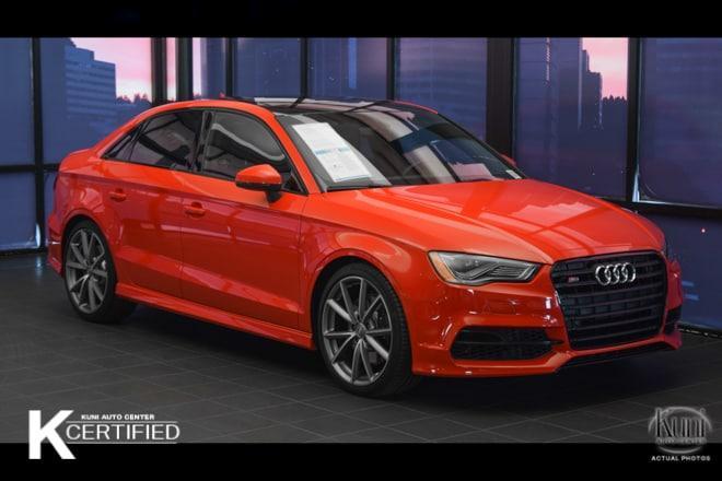 Audi S3 2.0T Premium Plus 2016
